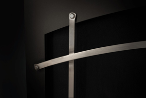 Image of Optional Napoleon Altitude X Arched Iron Elements in Satin Nickel which fit on Whitney Front)