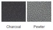 Majestic Charcoal Pewter Finishes