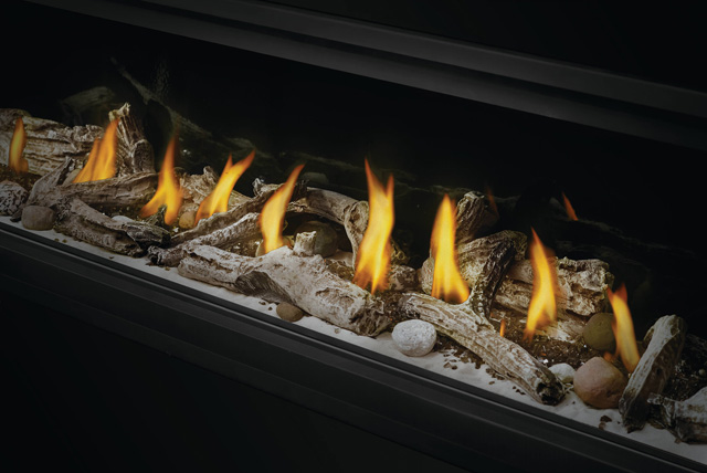 Beach Fire Logs and Shore Fire Kit in Vector Linear