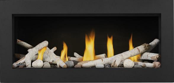 Vector LV38 Prod Straight Birch Logs Shore Fire Classic Front Black
