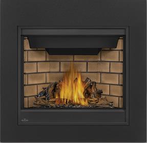 PHAZER® Log Set, Sandstone Decorative Brick Panels, Clean Face Front