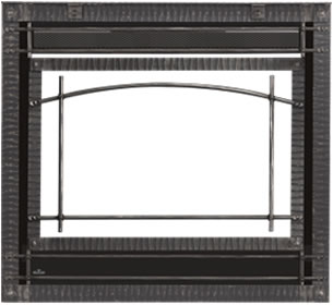 Scalloped Steel Decorative Front - Wrought Iron